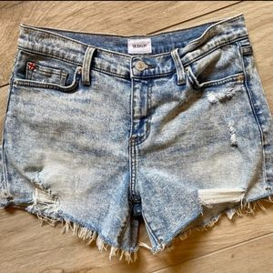 Hudson Gracie Mid-rise Shorts